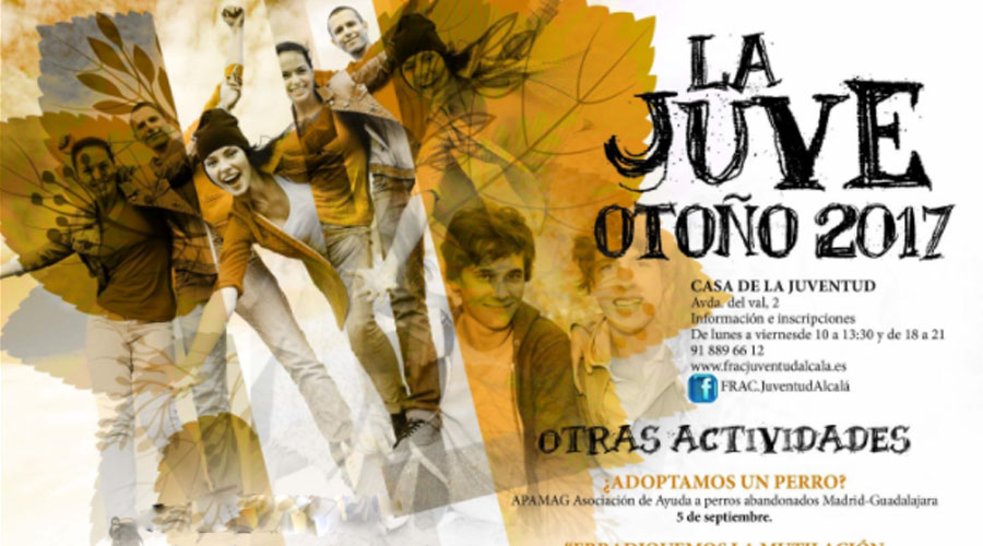 Ocio y deporte en La Juve durante todo el Otoño en Alcalá de Henares