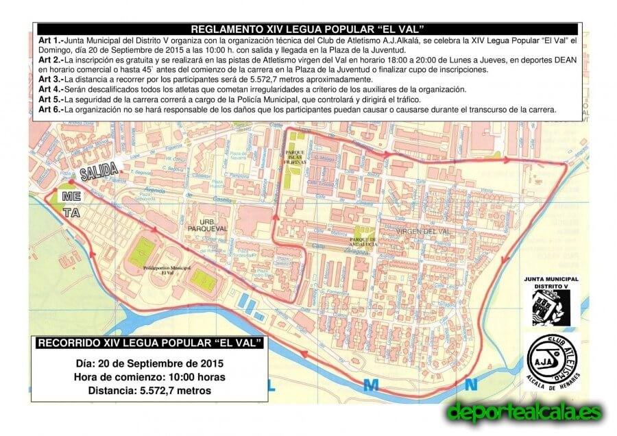 Participa en la XIV Legua Popular El Val del Ajalkalá este domingo