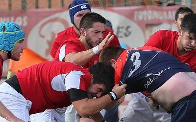 El Rugby Alcalá cae ante un potente Rugby Majadahonda