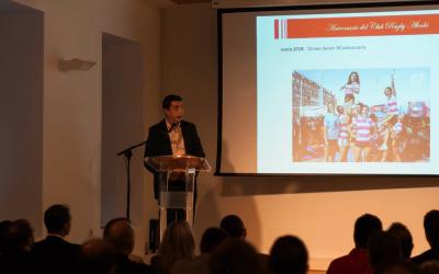 El Rugby Alcalá presenta los actos de su 50 aniversario